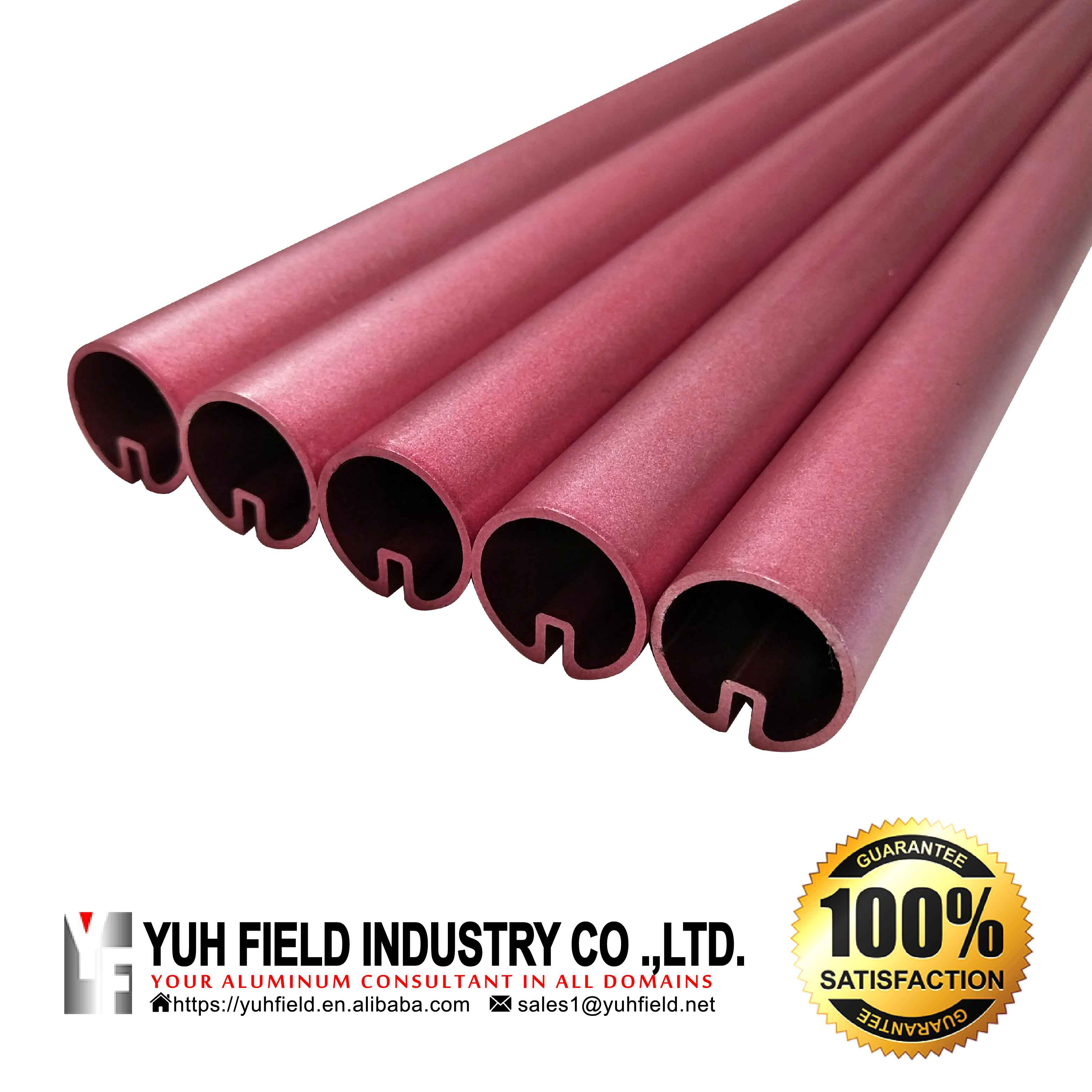 Coated aluminum tube